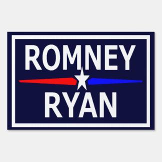 Muestra del césped de Romney Ryan Señal