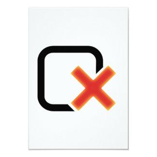 Muestra del Checkbox Invitación 8,9 X 12,7 Cm