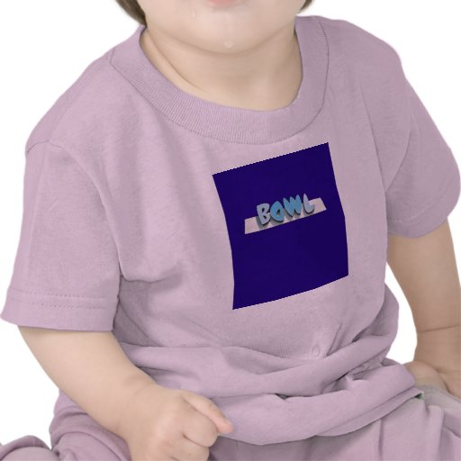 muestra del cuenco del vintage camiseta