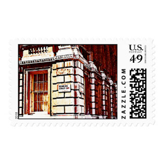 Muestra del Downing Street Sello Postal