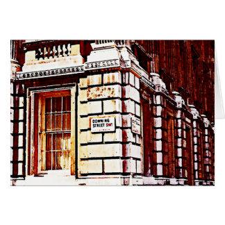 Muestra del Downing Street Tarjeta Pequeña