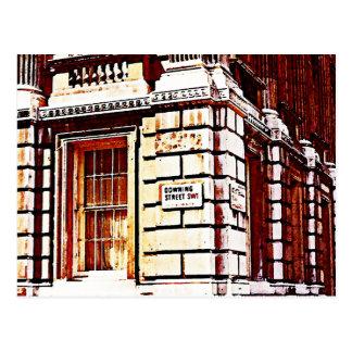 Muestra del Downing Street Tarjetas Postales