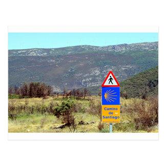Muestra del EL Camino de Santiago de Compostela, Tarjetas Postales