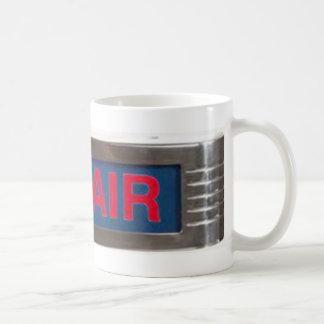 Muestra del En-Aire o difusión antigua del En--Air Tazas De Café