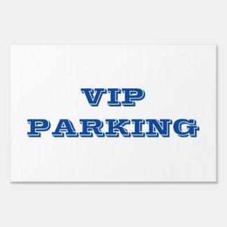 Muestra del estacionamiento del VIP Señal