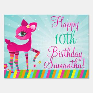Muestra del feliz cumpleaños de Deerie Cartel