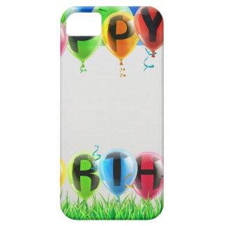Muestra del feliz cumpleaños iPhone 5 Case-Mate fundas