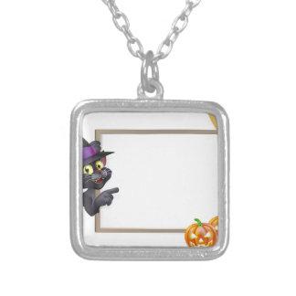 Muestra del gato negro de Halloween Grimpola Personalizada
