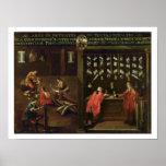 Muestra del gremio de los fabricantes venecianos d póster