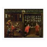 Muestra del gremio de los fabricantes venecianos tarjeta postal