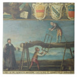 Muestra del gremio de los trabajadores venecianos  azulejos