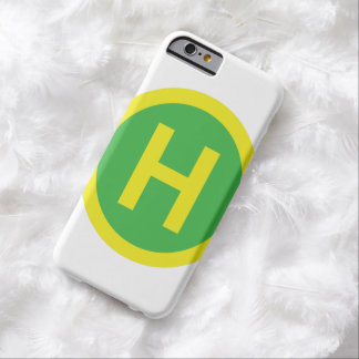 Muestra del helipuerto funda para iPhone 6 barely there