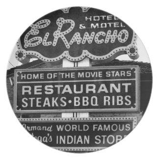 Muestra del hotel del EL Rancho Plato