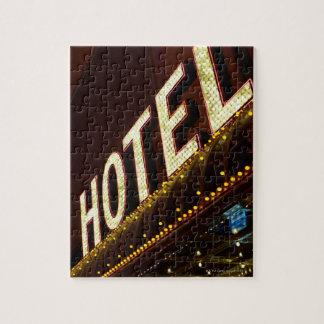 Muestra del hotel, Las Vegas, Nevada Puzzle Con Fotos