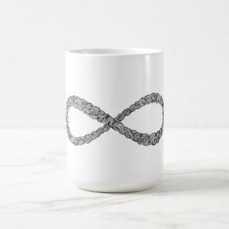 Muestra del infinito taza clásica