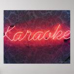 Muestra del Karaoke Póster