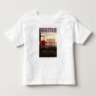 Muestra del mercado del lugar de SeattlePike y Playeras