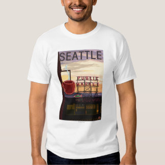 Muestra del mercado del lugar de SeattlePike y Polera