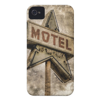 Muestra del motel de la estrella del Grunge del iPhone 4 Carcasas