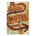 Muestra del motel de la estrella del vintage