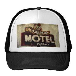 Muestra del motel del sombrero del EL del vintage Gorro De Camionero