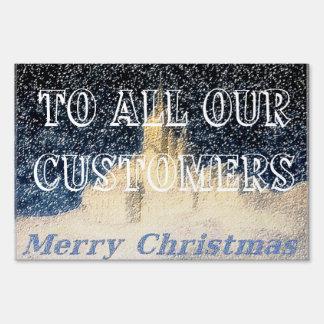 Muestra del navidad del cliente