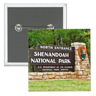 Muestra del norte de la entrada del parque naciona pin