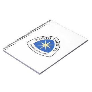 Muestra del norte del rastro del país, los cuaderno