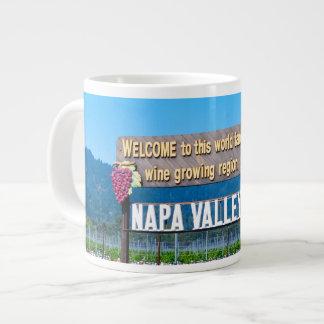 Muestra del país vinícola de Napa Valley Taza Grande
