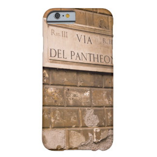 Muestra del panteón, Roma, Italia 2 Funda De iPhone 6 Barely There