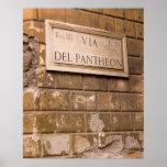 Muestra del panteón, Roma, Italia 2 Impresiones