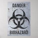 Muestra del peligro del Biohazard Posters