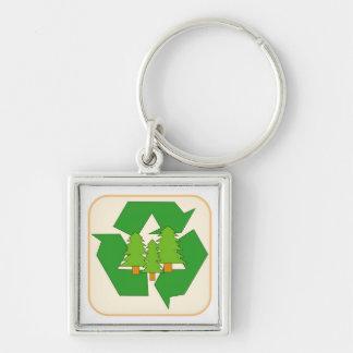 Muestra del recurso renovable llavero