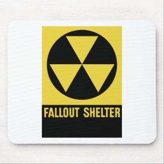 Muestra del refugio de polvillo radiactivo mousepad
