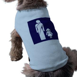 Muestra del retrete de las señoras, la India Camiseta Sin Mangas Para Perro