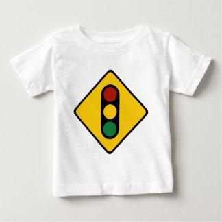 Muestra del semáforo playera de bebé