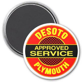 Muestra del servicio de DeSoto del vintage Iman Para Frigorífico