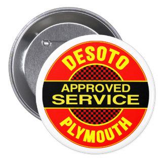 Muestra del servicio de DeSoto del vintage Pin