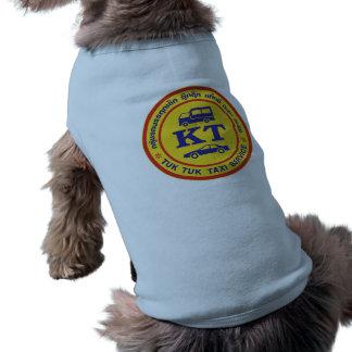 Muestra del servicio del taxi de Tuk Tuk, Camisetas De Mascota