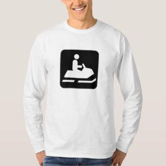 Muestra del Snowmobile Camisas