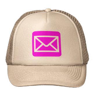 Muestra del sobre - magenta gorras