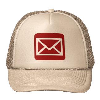 Muestra del sobre - rojo de rubíes gorra