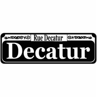 Muestra del St de New Orleans Decatur Fotoescultura Vertical