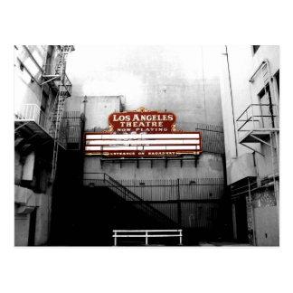 Muestra del teatro de Los Ángeles del vintage Tarjetas Postales