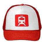 Muestra del tren - rojo gorra