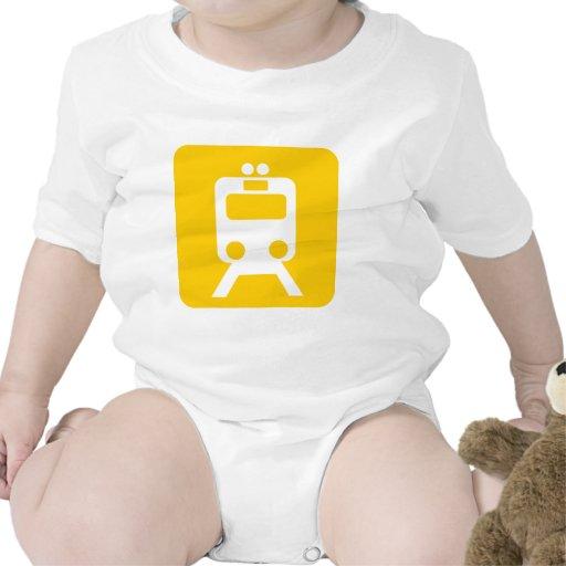 Muestra del tren - traje de bebé