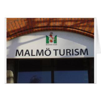 Muestra del turismo de Malmö Tarjeta De Felicitación