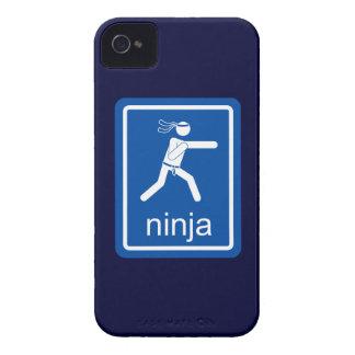 muestra del universal del ninja Case-Mate iPhone 4 coberturas