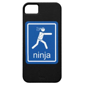 muestra del universal del ninja iPhone 5 Case-Mate protector