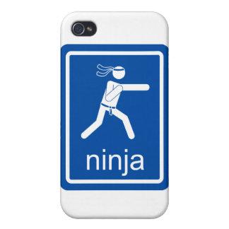 muestra del universal del ninja iPhone 4/4S funda
